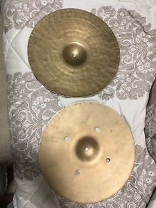 "15"" vintage Turkish hi hats"