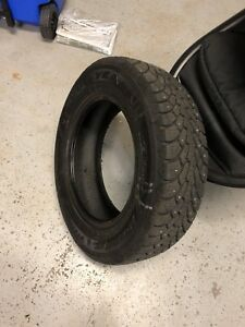 Goodyear Winter Tires with studs