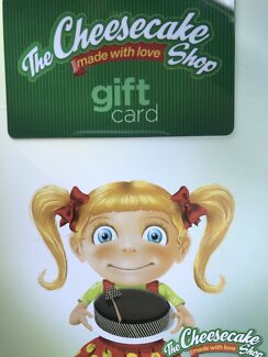 The Cheesecake Shop gift card $200