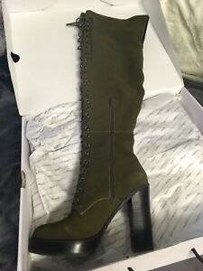 Size 8 Aldo over the knee boots