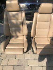 BMW e30 convertible interior