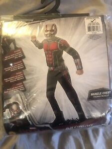 Ant-man Halloween costume for 8-10 year old. New, never opened