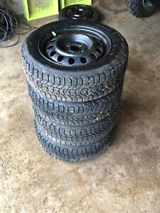 175/65R14 winter tires on rims