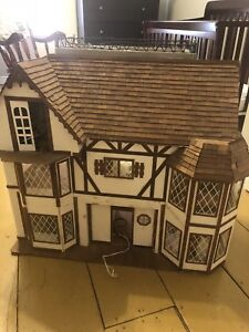 Large antique doll house
