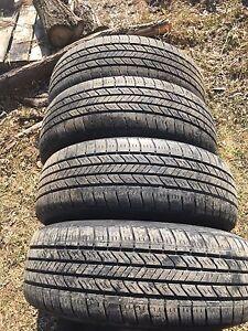 Tires and rims off a 03 caravan