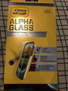 Otter box alpha glass for iPhone x
