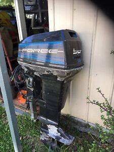 50 Hp Force Outboard Engine Price Reduced