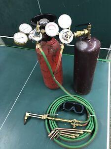 Oxy- acetylene victor welding kit