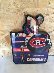 Montreal Canadians Collectable Clock
