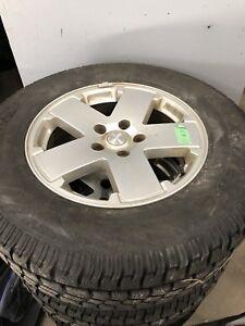 5 Jeep Winter Tires/Wheels 255/70r18