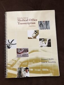 Introduction to Medical Office Transcription with CD ($120)