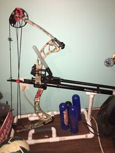 Very rare bow and pistol package