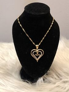 """18k Gold plated """"Mom"""" Necklace"""