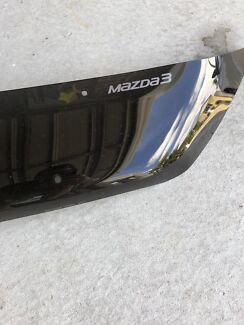 Mazda 3 Smoke Bonnet Protector