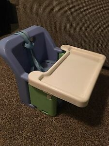 Booster high chair