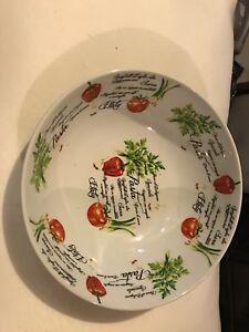 Bol en porcelaine neuf style italien
