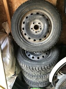 """16"""" winter tires for sale 5x112"""