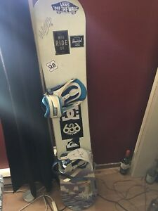 Custom Board Snowboard FS 156