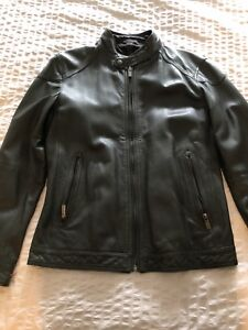 Massimo Dutti leather jacket just like brand new