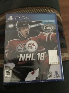 BRAND NEW NHL 18  PS4 GAME