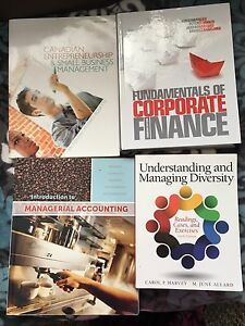 University text books- MSVU , DAL, SMU, NSCC