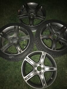 "JDM Toyota Lexus IS 17"" OEM Wheels SXE10 17*7 5*114.3 Wheel"