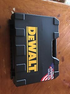 """Dewalt 18v 1/2 """" driver/drill with 2 batts and charger"""