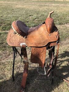 """14.5"""" Cowboy Country Qualifier Saddle"""