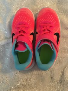 Nike Free Run Coral Sneakers Running Shoes size 12C