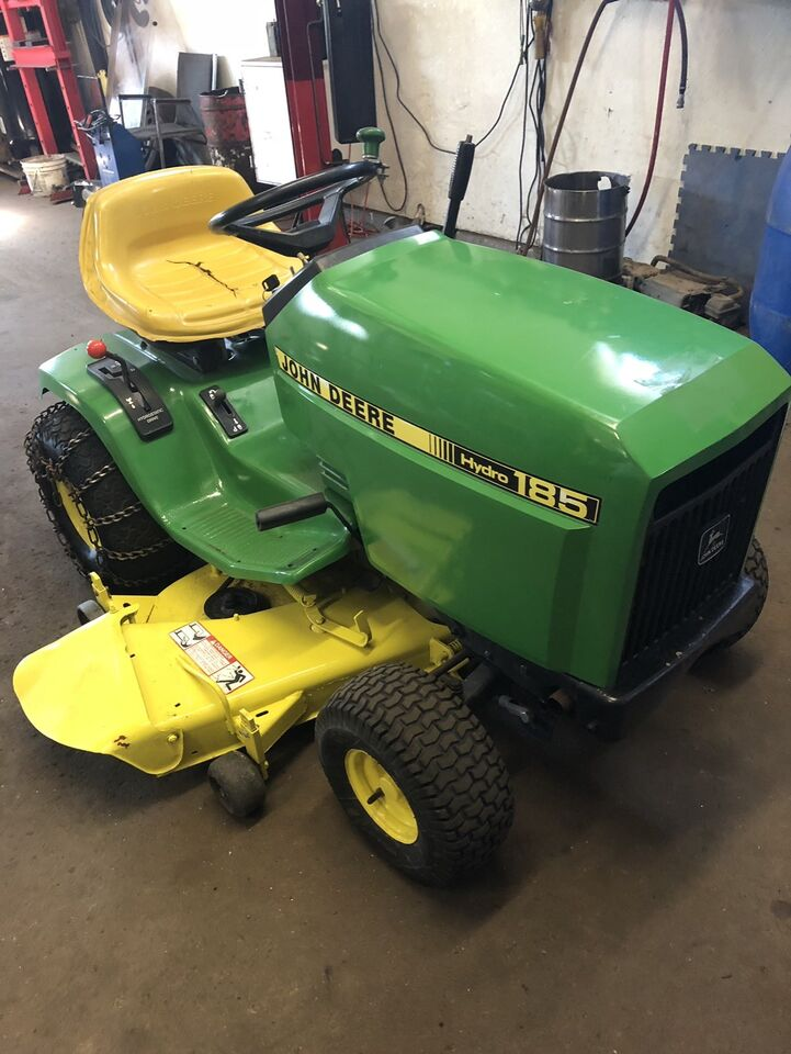 Description John Deere Hydro 185