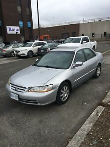 Super Clean and Reliable 2002 Honda Accord 4 Dr Special Edition