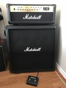 Marshall MG100FX w/ 4x12 slanted cab