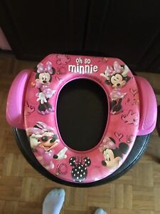 Little Girls Minnie Mouse Potty Seat