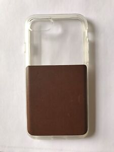 iPhone 7/8 Nomos Leather phone case NEW