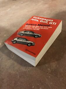 Bentley Manual for VW MKIV Golf and Jetta