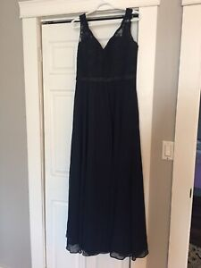 Morilee size 14 Navy gown