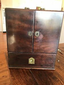Antique Mohogany Apothecary box Merriwa Upper Hunter Preview
