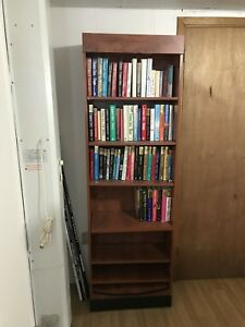 Book shelf and books