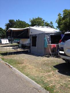 Bag awning and canvas walls Wynnum Brisbane South East Preview