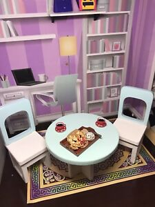 Barbie furniture,  1/60dinner table