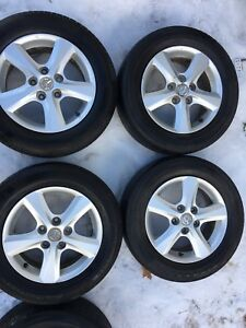 "15"" Mazda3 aluminum alloy winter/summer rims"