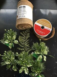 Accessories for wreath making