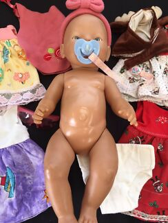 Baby Born Doll and Clothes