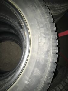 Used winter tires.