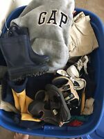 Furniture/baby clothing/misc. garage sale