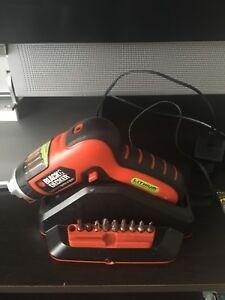 3.6v Black & Decker cordless drill