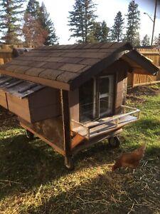 Insulated chicken coop
