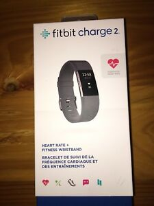 Fitbit charge 2 (black band)