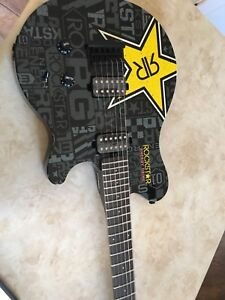 Electric rockstar guitar made by sterling