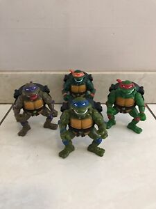 TEENAGE MUTANT NINJA TURTLES TALKIN' TURTLES VINTAGE FIGURES
